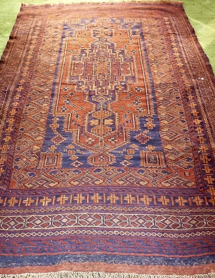Rugs And Kilims Are The Master Elements Of Bohemian Style: Afghan Kilim Rug For Sale. Traditional Tribal Motif