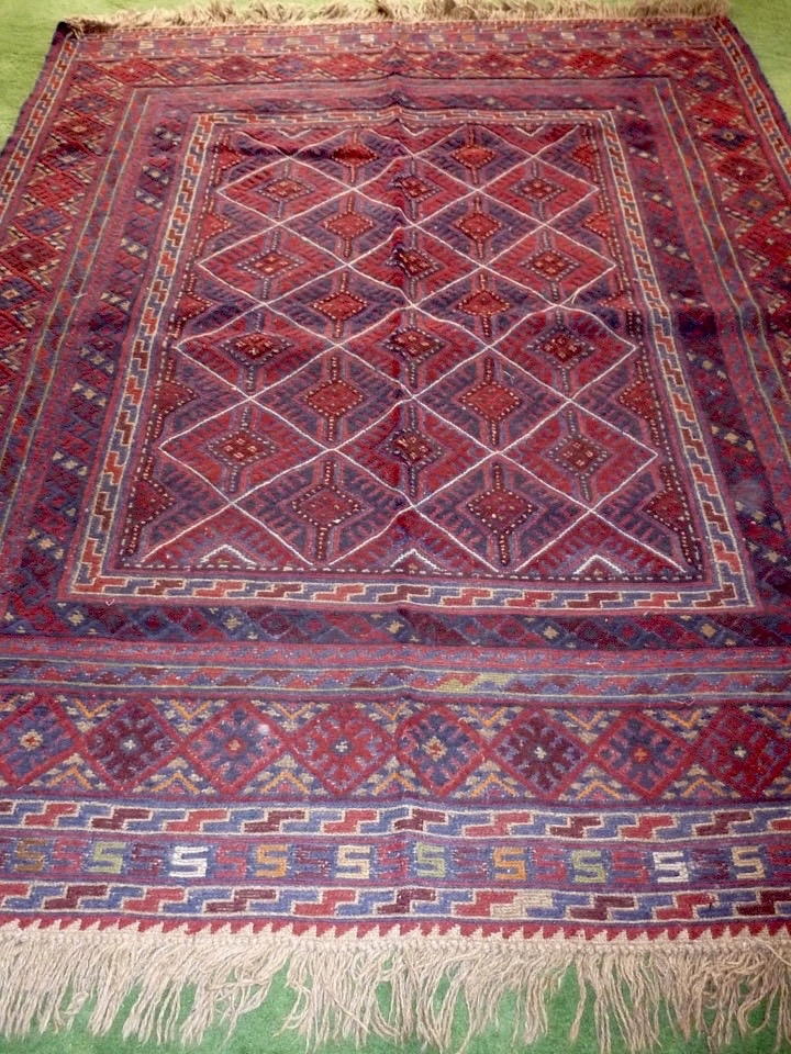 Afghan kilim rug for sale traditional tribal motif for Kilim designs